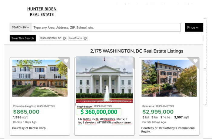Because Donald Trump does not want to move out: USA sells White House at a bargain price ($ 360 million)